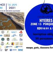 Provence Propre - La Grande Collecte - Hyères Zone 13 Porquerolles
