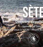Dépollution au Môle-Saint-Louis, Sète