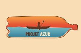 Ramassage de déchet à Nevers - Projet Azur - Expédition Loire 2021